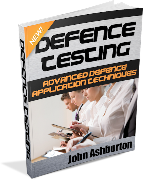 Defence Testing Book
