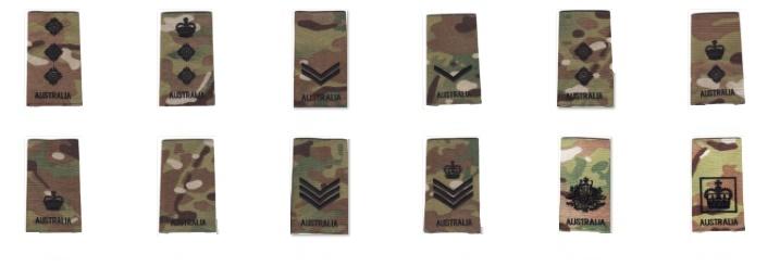Army Rank DPCU